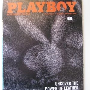 Unopened Playboy Magazine 2009 July/August